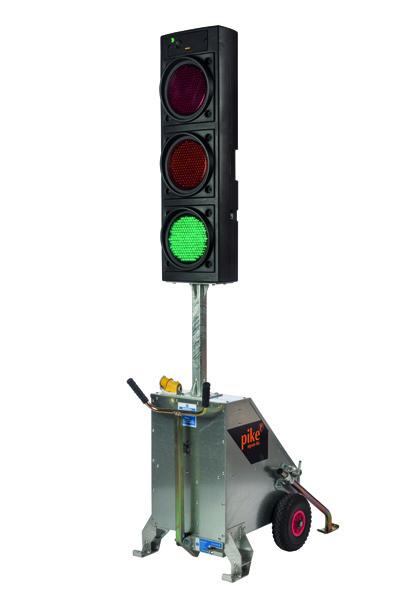 Micro Portable Traffic Signal